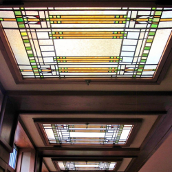 Chesterfield Stained Glass Ceiling