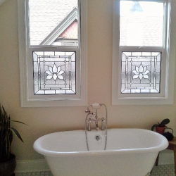 Chesterfield Bathroom Stained Glass