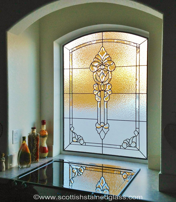 Stained Glass For Kitchen Cabinets: Custom Stained Glass For Kitchens