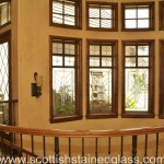 Kansas City Stained Glass Transom in Wichita