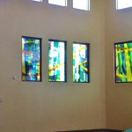 Kansas City Stained Glass Church in Olathe
