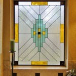 Kansas City Stained Glass Bathroom in Olathe