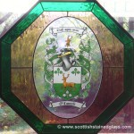 Kansas City Stained Glass Family Crest in Overland Park