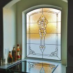 Kansas City Stained Glass Bathroom in Topeka