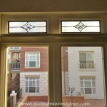Kansas City Stained Glass Transom in Topeka