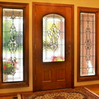 Hallway Stained Glass Windows Salt Lake City