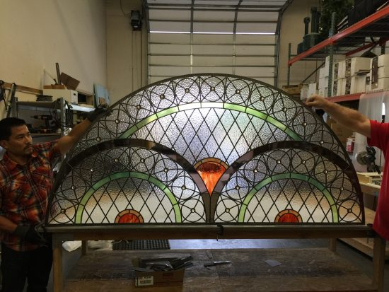 stained glass transom kansas city